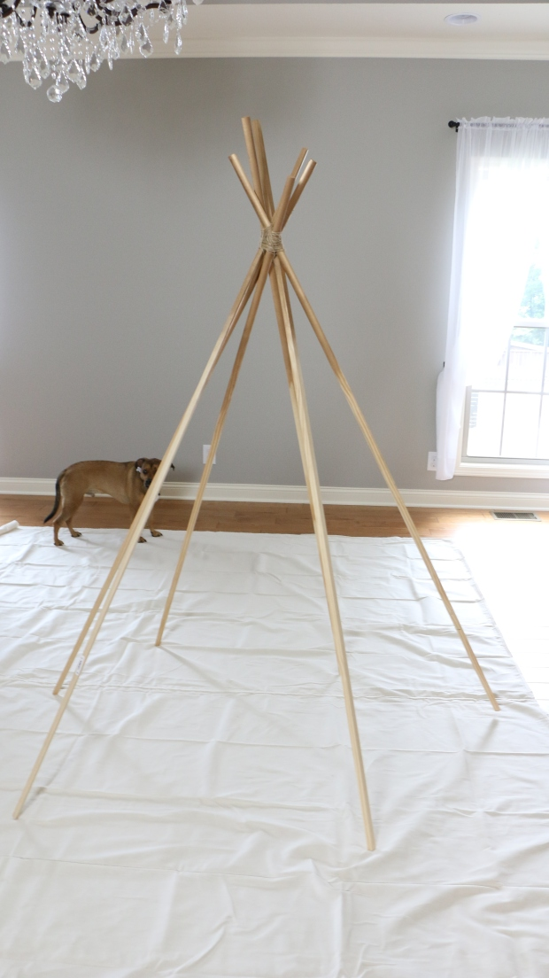 diy tipi de princesse sans couture. Black Bedroom Furniture Sets. Home Design Ideas